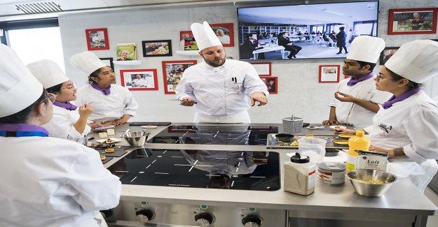 Nouvelle École pour les grands Chefs de cuisine en Suisse - Vue