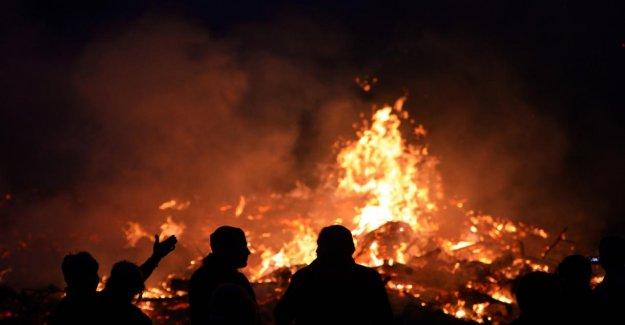 Pâques en raison de risques d'incendie de forêt annulé parce que c'est trop sec!