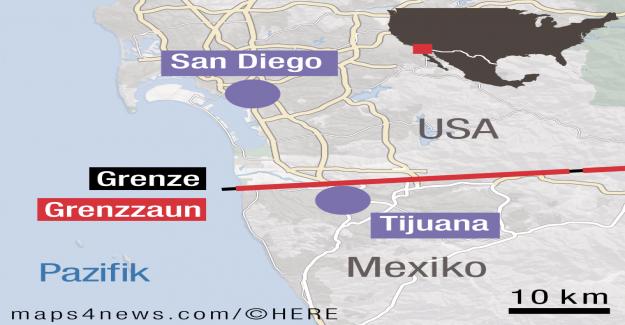 Tijuana: VUE dans le plus dangereux de la Ville, de la vision du Monde