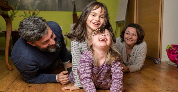 Tôt Test: Lorea a le Syndrome de Down, sa sœur Jumelle, non
