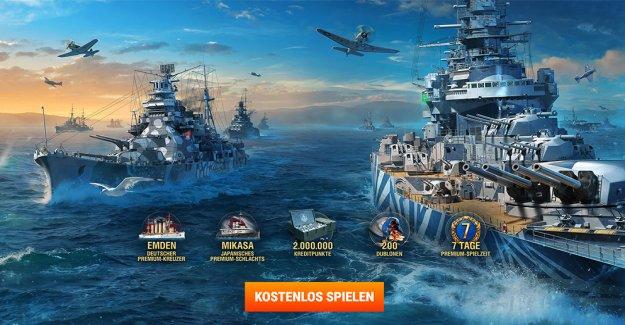 World of Warships est le libre jeu de Stratégie pour les Fans de batailles Navales