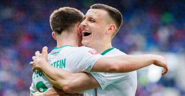 1:0 contre Hoffenheim! Le Werder de Brême, kann sans Max Kruse