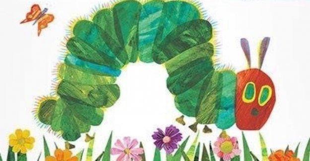 60 Millions d'exemplaires vendus des Livres: the very hungry Caterpillar fête ses 50. Anniversaire