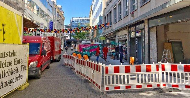 À Stuttgart, rien n'est fini: les Chantiers de construction-Slalom agace les Passants