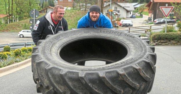 Boxe: poids lourd Tom Noir formés pour la Lutte contre Fury