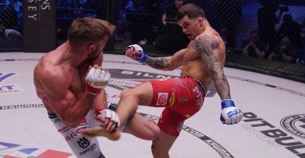 CPC: Le MMA Sensation de Pologne – Combattants comme des Gladiateurs célébré