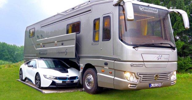 Caravan Salon de Düsseldorf En 2018: Le plus grand Luxe de camping-cars de la Foire