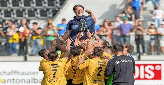 Challenge League: Ce qui se passe entre Yakin et Schaffhausen? - Vue