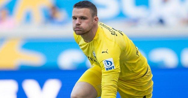 Comme un Substitut pour cette année-Fernandes: Darmstadt veut Sandhausens Gardien de but