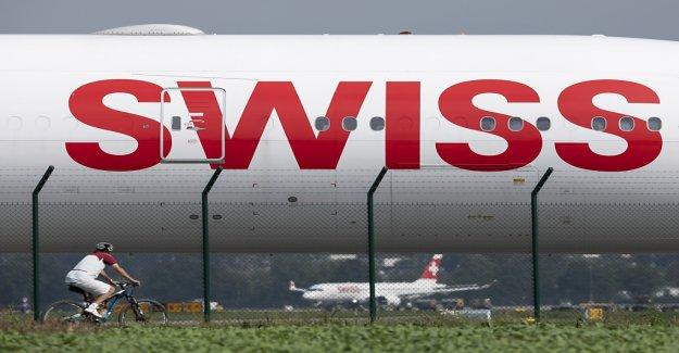 Compagnie aérienne Swiss et d'une détérioration de la Charge de travail dans les Mois d'Avril - Vue