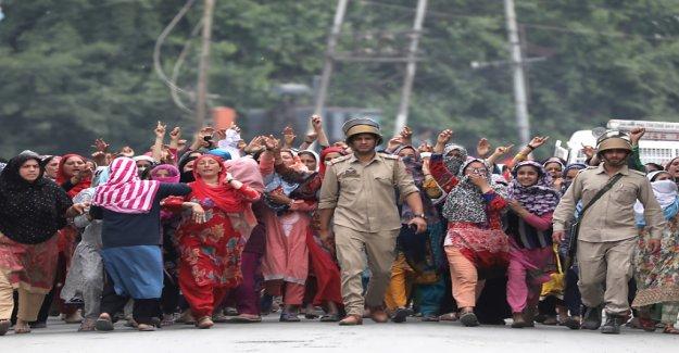 De violentes Protestations en Inde - Vue