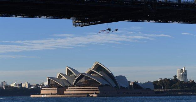 Défenseurs de l'environnement de l'Action, de Sydney, en Vue