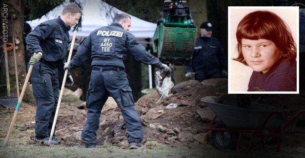 Depuis 43 Ans, a disparu: rechercher Polizeitaucher après Monika de bois frais