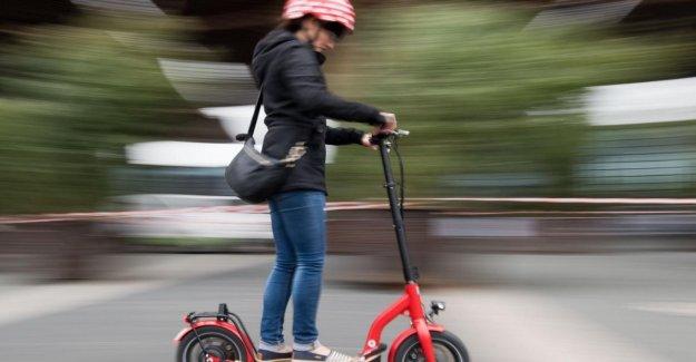 E-Scooter: le conseil Fédéral est d'accord pour l'Admission des déchets d'équipements Électriques Scooters