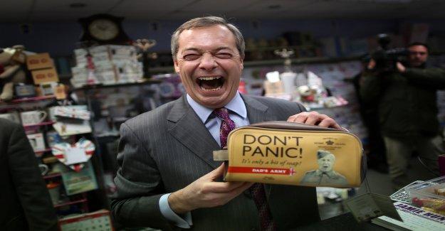 Élections européennes: Brexit Parti de Nigel Farage, se trouve dans le GO de l'avant - Vue