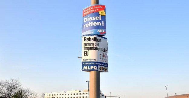 Élections européennes: on Ne peut arracher les affiches électorales?