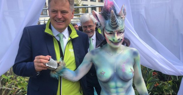 En tant que conseillère municipale barbusiges Licorne: Comme beaucoup de Nudité est-elle permise?