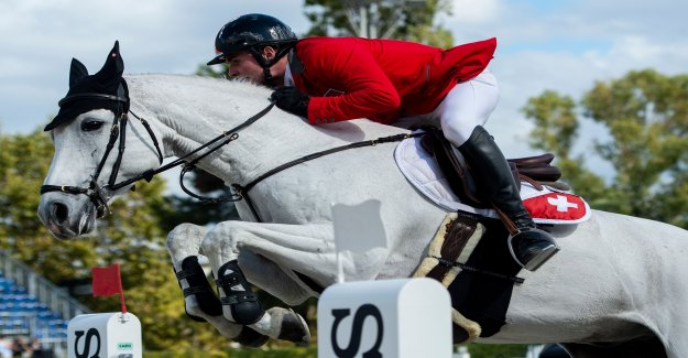 Équitation: Nervenstarke Suisses obtenir la première victoire de Vue en
