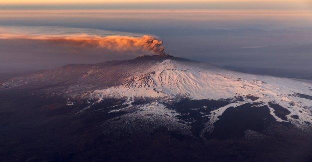 Etna a éclaté de nouveau - Vue
