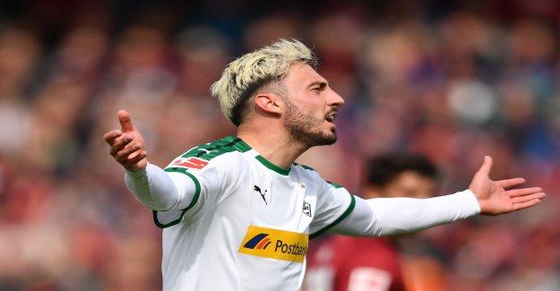 Football: Tirer Drmic Gladbach dans la Ligue des Champions? - Vue