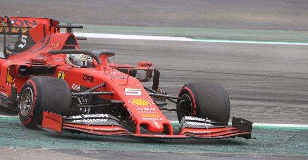Formule 1: Hamilton balaie tous les de chemin de Ferrari suite à perte de Vue en