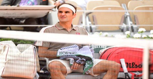 - Garros: Roger Federer intrigué sur les Ennemis Oscar Otte - Vue