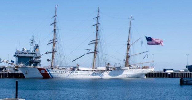 Gorch FockSœur Eagle: US-Navire-école de la Visite à Kiel