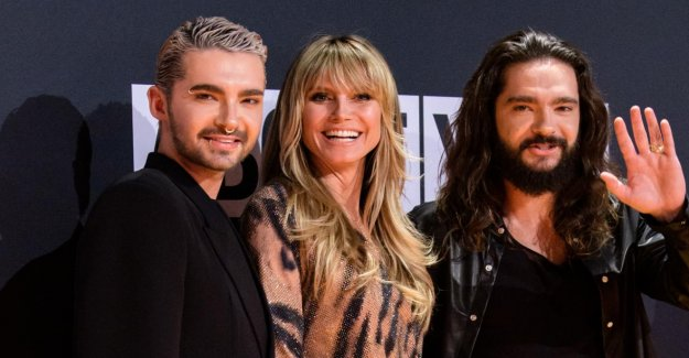 Heidi aide avec: Tom Kaulitz enfile pour Bill qui Flirte un