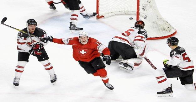 Hockey sur glace-championnats du monde: La Suisse en Quarts de finale, l'Adversaire est-à-dire le Canada - Regard
