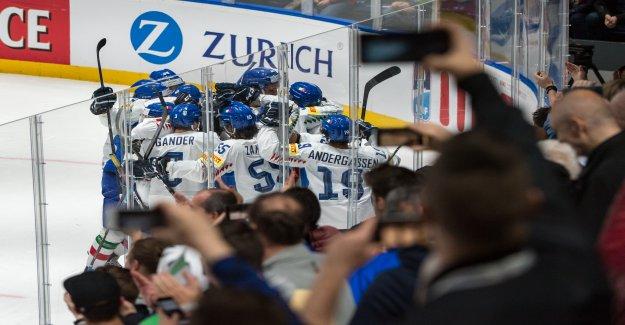 Hockey sur glace-coupe du monde 2019 - jubilé de la Descente de la Folie de Vue