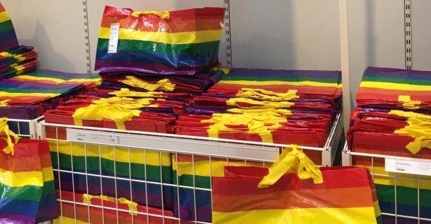 Ikea-Sac en Regenbogenbunt de la Journée de la Diversité