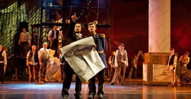 La saison à Pieds: le Célèbre comédie Musicale le Roi Louis II