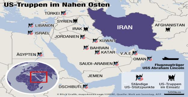 Le conflit dans la région du Golfe, l'Iran ne veut pas de Guerre avec les états-UNIS - Vue