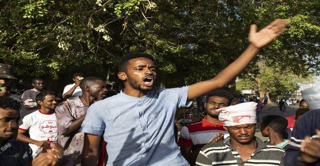 Les émeutes dans la Capitale du Soudan, Khartoum - Vue