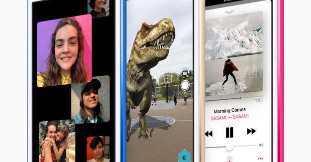 L'iPod touch est de retour en forme pour les Jeux et la Réalité Augmentée