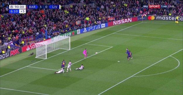 Ligue des Champions: Barcelone Dembélé permet de Klopp et Liverpool en Vie