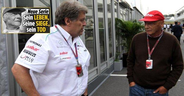 Niki Lauda: Norbert Haug, explique le Coureur de Lauda