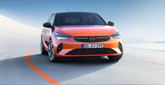 Opel Corsa électrique: Maintenant, prendre le train de cinq places dans le Futur