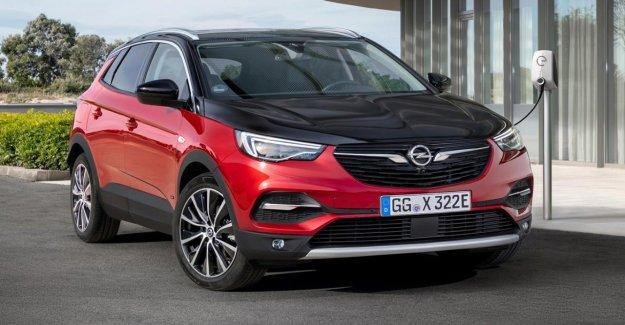 Opel SUV Hybride Plug-in: de La Grandland X est zuTeilzeit roues motrices du véhicule