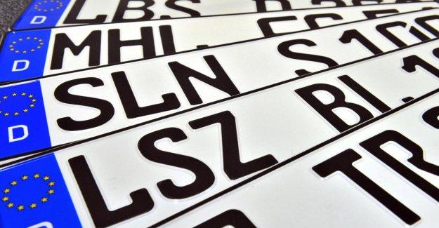 Plaque d'Immatriculation: Ce sont des Combinaisons de plaques d'Immatriculation interdit
