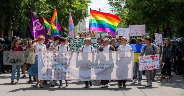 République de Moldova: les Gays et les Lesbiennes célébrer CSD en Moldavie