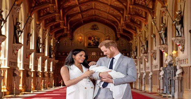 Royal Baby: strictement pousse Meghan, et Harry Bébé Archie sur