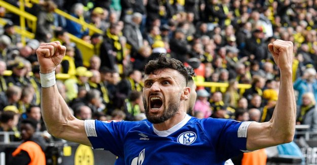 Schalke: Derby-Héros de Daniel Caligiuri avant de Prolongation de contrat jusqu'en 2022