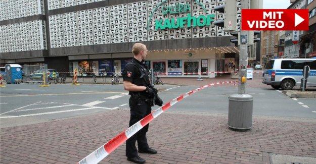 Une fausse Alarme dans Galeria Kaufhof: Blocage dans le Centre-ville abrogé