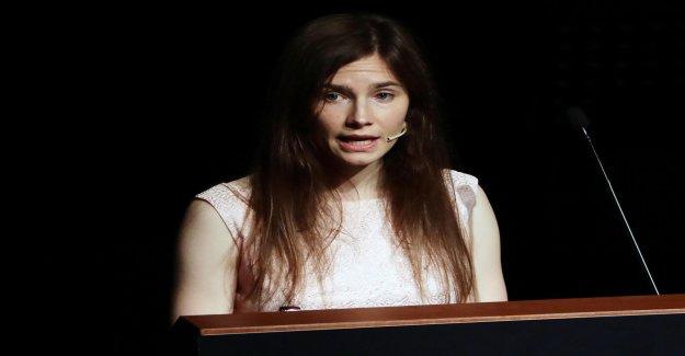 Aufwühlende Discours en Italie: Amanda Knox du Meurtre de Processus de Vue
