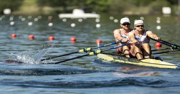 Aviron: les Médailles Fête à la Maison-EM sur le Rotsee? - Vue