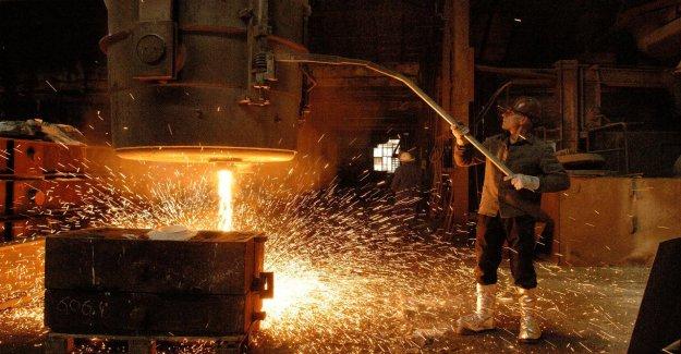 Baisse de 6,5%: Chiffre d'affaires-Boom lors de Sarre-Industrie