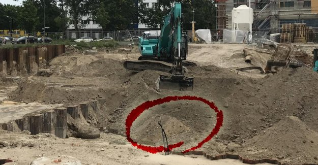 Berlin, Alexanderplatz: Bombe trouvé, 100 Kilos