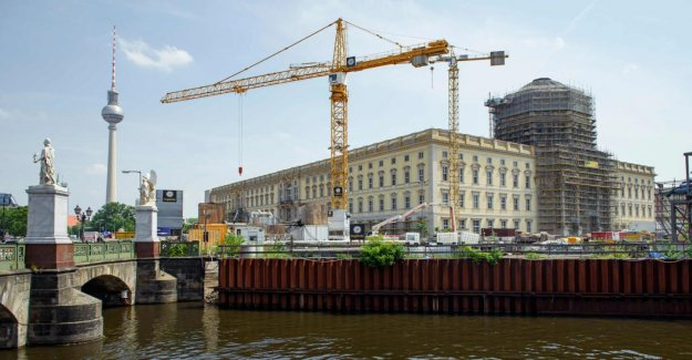 Berlin: Humboldt Forum Château – Ouverture 2019 éclaté