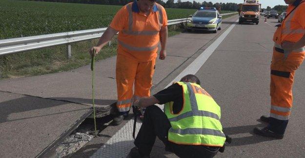 Blow Up à Oldenburg de la Chaleur permet d'Autoroute aufploppen
